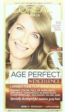 L'Oreal Paris Age Perfect Excellence Permanent Color Light Soft Natural Brown 6B