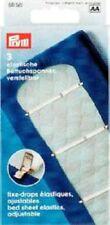 Prym 3 Betttuchspanner elastisch weiß verstellbar 611561