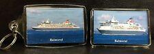 Fred Olsen Cruises BALMORAL Fridge Magnet & Keyring Set Cruise Ship