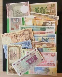 Geldscheine, Banknoten, Papiergeld,  32 pices