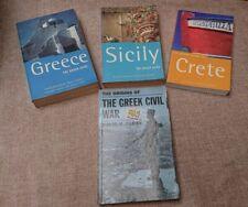 Rough Guides - Greece - Sicily - Crete -  plus History of Greek Civil War