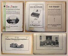 Festschrift Einweihung des Denkmals der 95er & der Truppenverbände Gotha 1927 xz