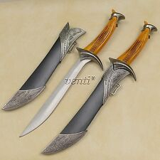 """Orcrist The Sword Of Thorin With Scabbard 11"""" Long Knife / Letter Opener"""