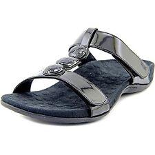 Orthaheel by Vionic Albany Women  Black Slides Sandal  size 8 M