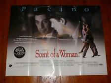 Scent of a Woman ~ Original Quad Poster 1992 ~ Al Pacino / Chris O'Donnell
