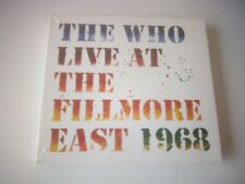 The Who - Live at the Fillmore East 6th April 1968 NEW AND SEALED 2 CD ALBUM