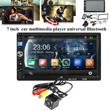 "7""Touch Screen Multimedia Player Bluetooth FM Universal Car Radio Stereo Audio"
