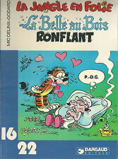 La jungle en folie La Belle au bois ronflant 1982 16/22 Dargaud BD