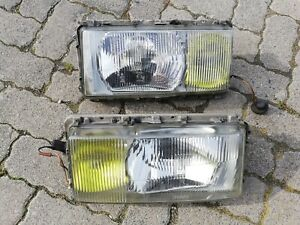 Mercedes S-Class W116 280 300 SD 350 450 SE SEL 6.9 BOSCH Euro Yellow Headlights