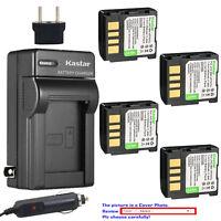 Kastar Battery AC Charger for JVC BN-VF707 & JVC GR-D250U GR-D250US GR-D248US