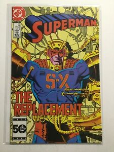 Superman 418 Near Mint- Nm- 9.2 Dc Comics