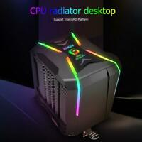 Great Wall G400 CPU Cooler Fan 4 Heat Pipes ARGB Dual Tower Cooling Radiator
