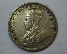 1917 India One Silver Rupee Nice Piece For Your Set .3438 ASW