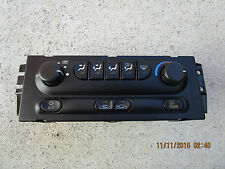 98 - 02 OLDSMOBILE INTRIGUE A/C HEATER CLIMATE TEMPERATURE CONTROL P/N 10408104