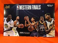 Cheer Card Authentic Fan Golden State Warriors Western Finals 2018 New SGA