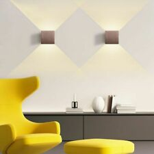 Aluminium LED Wall Lights Minimalist Bronze Lamps Staircases Decorations 220V 6W