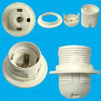E27 Light Bulb Lamp Holder Pendant Socket M10 Edison Screw with Lampshade Collar