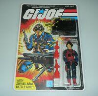 *RECARDED* 1984 GI Joe Scrap Iron Figure Complete Sealed *CUSTOM File Card Back*