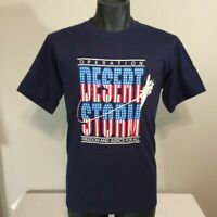 Vintage Operation Desert Storm T-Shirt Large 90s Gulf War Freedom Fighter USA