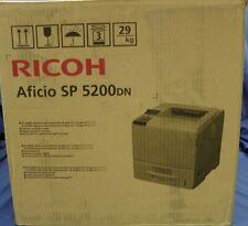 Ricoh Aficio SP 5200DN Black & White Laser Printer #3108