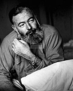 ERNEST HEMINGWAY NOVELIST, SHORT STORY WRITER AND JOUNALIST - 8X10 PHOTO (SS023)