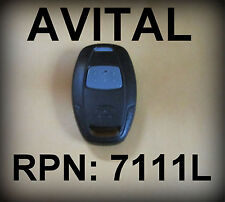 AVITAL 7111L  KEYLESS ENTRY REMOTE TRANSMITTER FOB DOOR CONTROLLER  EZSDEI47IH