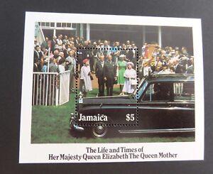Jamaica 1985 85th Birthday Queen Mother MS miniature sheet MNH UM unmounted mint