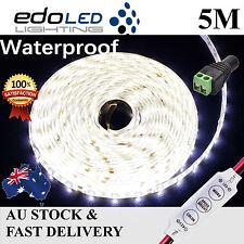 Waterproof 12V Cool White 5M 3528 SMD 300 LED Strips Led Strip Lights Car Boat