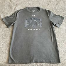 Mens Under Armour Tampa Bay Rays Tshirt Large Perfect Condition
