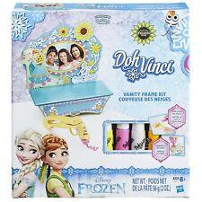 Playdoh DohVinci Disney Frozen Vanity Frame Kit Ages 6+ New Toy Draw Girls Play