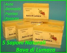 BAVA LUMACA  offerta  5 saponi naturali  TUTTI I TIPI DI PELLE !!!!