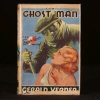 1936 The Ghost Man by Gerald Verner Very Scarce First UK Edition Dustwrapper