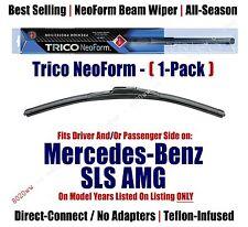 Super Premium NeoForm Wiper (Qty 1) fits 2013-15 Mercedes-Benz SLS AMG - 162012