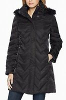 Marc New York Womens Jacket Classic Black Size Small S Faux-Fur $129 941