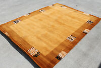 R27768 Gorgeous Thick Pile Tibetan Wooln Area Rug 5.7' X 7.10' Handmade in Nepal