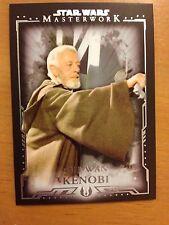 2015 Topps Star Wars Masterwork #56 Obi-Wan Kenobi Short Print SP
