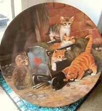 Sammel- & Zierteller aus Porzellan mit Teller mit Katzen-Motiv