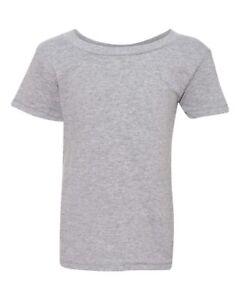 New! Gildan Heavy Cotton Toddler Kids Plain Short Sleeve T-Shirt 5100P