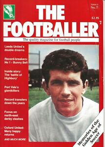 THE FOOTBALLER MAGAZINE ISSUE NUMBER 21 ~ LEEDS UNITED / PORT VALE / OXFORD
