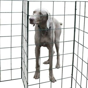 Foldable Dog Fence by Flexipanel Barrier Fencing Gate Run Pen Garden 1Metre High