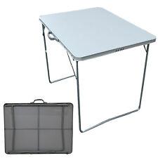 Portable Camping Table pliante aluminium Picnic BBQ Extérieur Caravane Moteur Maison