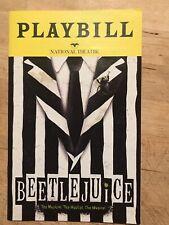 BEETLEJUICE Pre-Broadway Washington DC National Theatre Playbill - Oct/Nov 2018!