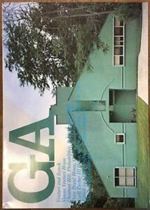 USED GA Global Architecture #39 Venturi & Rauch Vanna Venturi House Japan Book