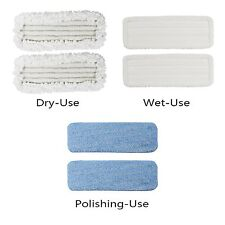 Le Coucou Refill for SC-D1 Mop Wet, Dry, Polish Mop Head Variety Pads (3 pack)