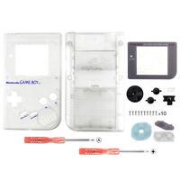 Customized Housing Shell Repair Parts for Nintendo GAME BOY DMG-01 Transparent