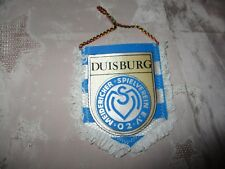 "MSV Duisburg Original kleiner gedruckter 70iger Jahre Wimpel ""MSV Wappen"" Neu"