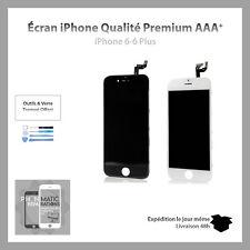 VITRE TACTILE + ECRAN LCD RETINA SUR CHASSIS POUR IPHONE 6 BLANC/NOIR + OUTILS