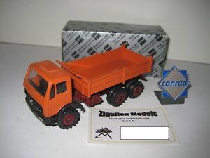 Mercedes 2626 Ak 3-ACHS Kipper Red Brown #3040.2 Conrad 1:50 Boxed