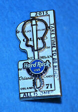 HARD ROCK CAFE 2015 Orlando Live Mantra Puzzle Piece (right) Pin # 83890