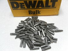 DEWALT DW2203BL #3 Square Recess Bit Tips 100pcs. Last One!
